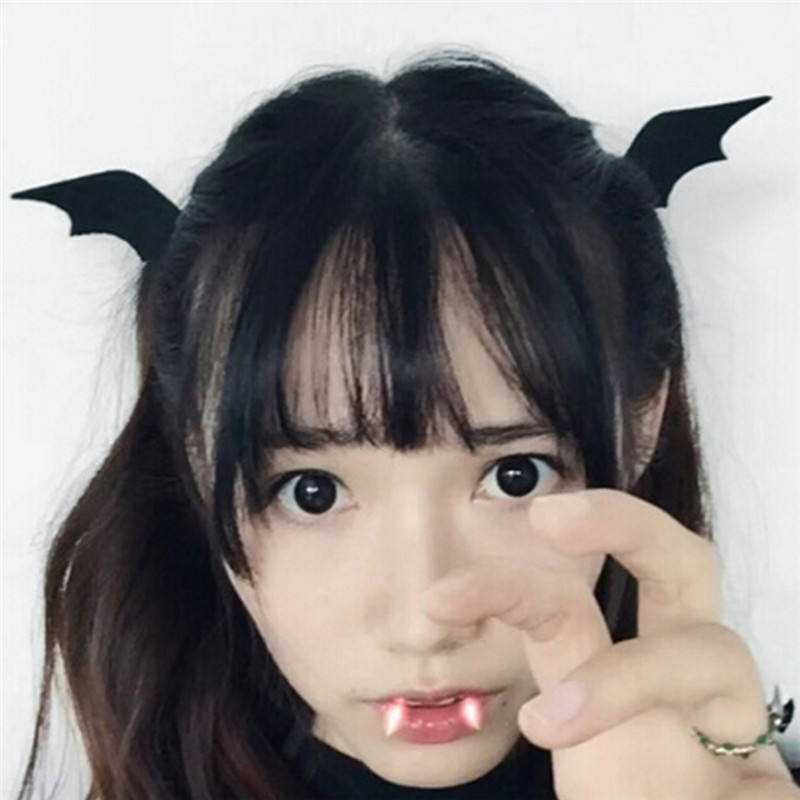 Girl Halloween Stereo Devil Hairgrips Headband Hairband Headwear Accessories Horns Ears Hairpins Barrettes Hair Head Bands Clip