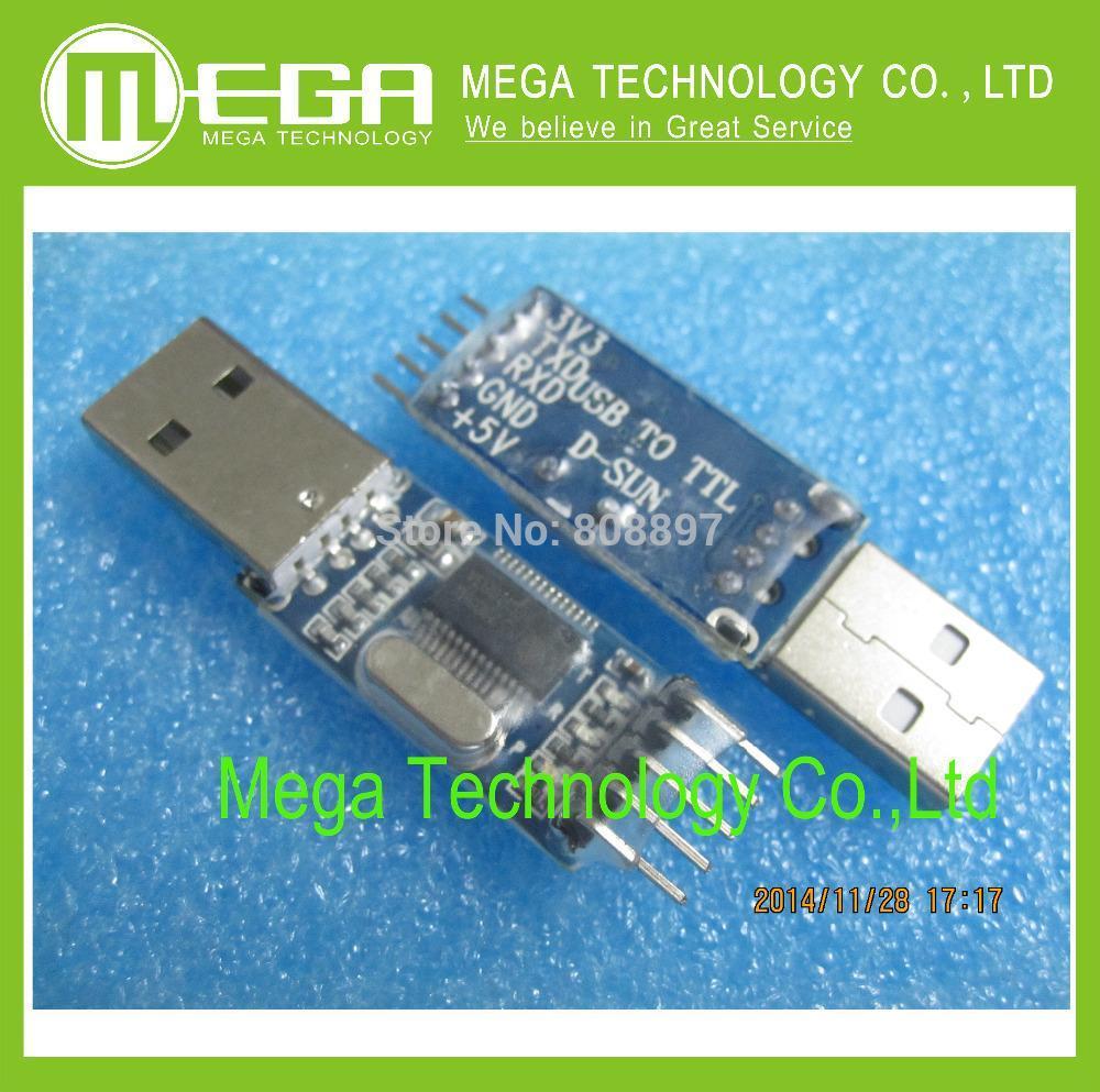 50PCS PL2303HX USB to TTL / USB-TTL / STC microcontroller programming module / P