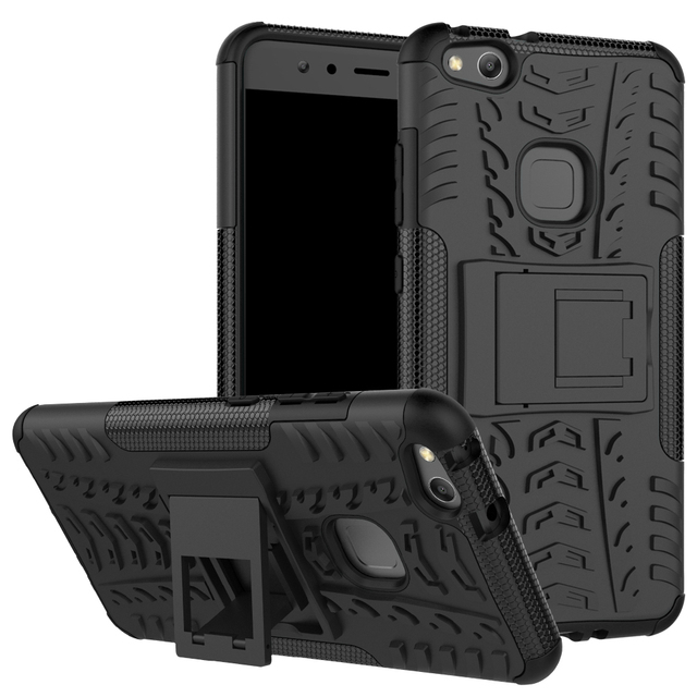 new product d7aec d1c9a US $6.6 |Huawei P10 lite Case Slim Couqe Hybrid Armor 360 Full Protection  Holder Robot Cover for Huawei P10 Lite Smartphone Cases-in Half-wrapped  Case ...