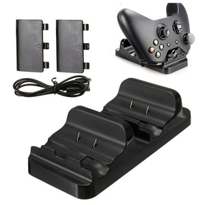 Image 1 - Dual Ladestation Dock Stehen + 2 Akku Für Xbox One Wireless Controller