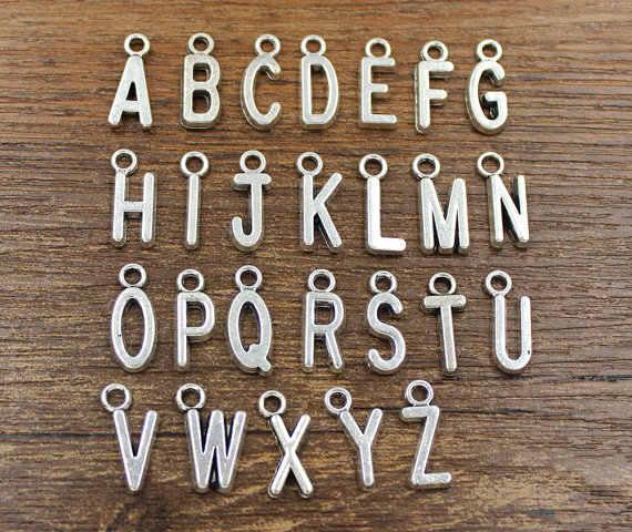 2018/thời trang nóng các mô hình chất lượng cao antique silver elephant cá nhân Tiếng Anh bảng chữ cái vòng chìa khóa người đàn ông và phụ nữ mặc đồ trang sức.
