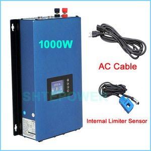 Image 3 - Nieuwe Bijgewerkte 1000W Grid Tie Inverter Met Wifi Plug Mppt Zonne energie 1KW Inverter + Inter Limiter Sensor 24 V 48 V Dc Ac 220V 230V