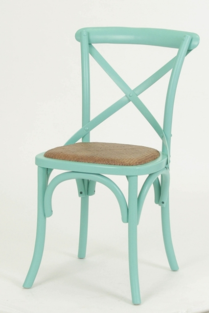 Good Cross Back Chair Wood Chair IKEA Mediterranean Fork Back To Do The Old  American Vintage French