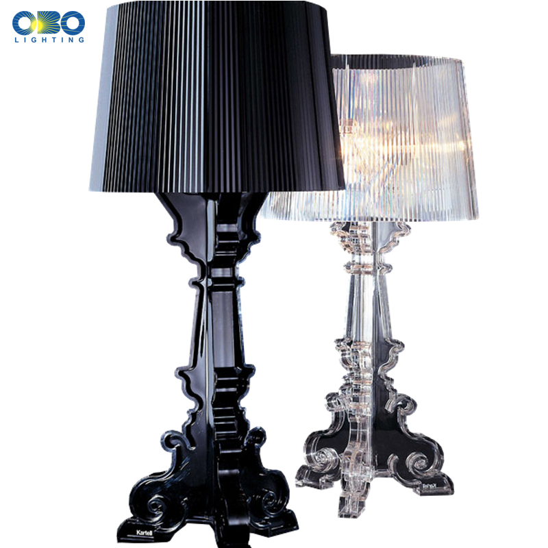 Modern Bedroom Bedside Table Lamp Simple Foyer Decoration Light Translucent Color With Lampshade E14 110 240V