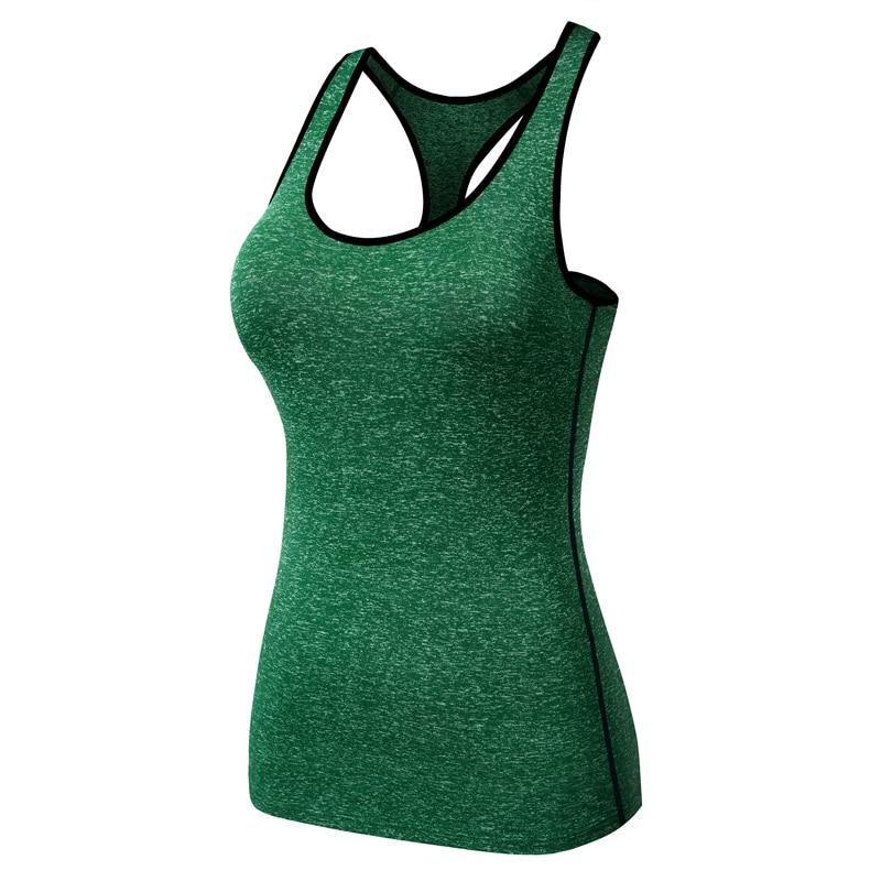 HOT2017 Summer Outdoor women Sweat Fitness Sport bodybuilding compression close fitting practice Running vest Snow Soft