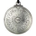 1pcs Amulet pendant Pentacle of Mercury Talisman Key of Solomon Seal Pendant Hermetic Enochian Kabbalah Pagan Wiccan Jewelry
