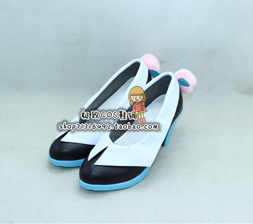The Super Dimension Fortress MACROSS DELTA Mikumo Guynemer cosplay Shoes Boots Custom Made 3778