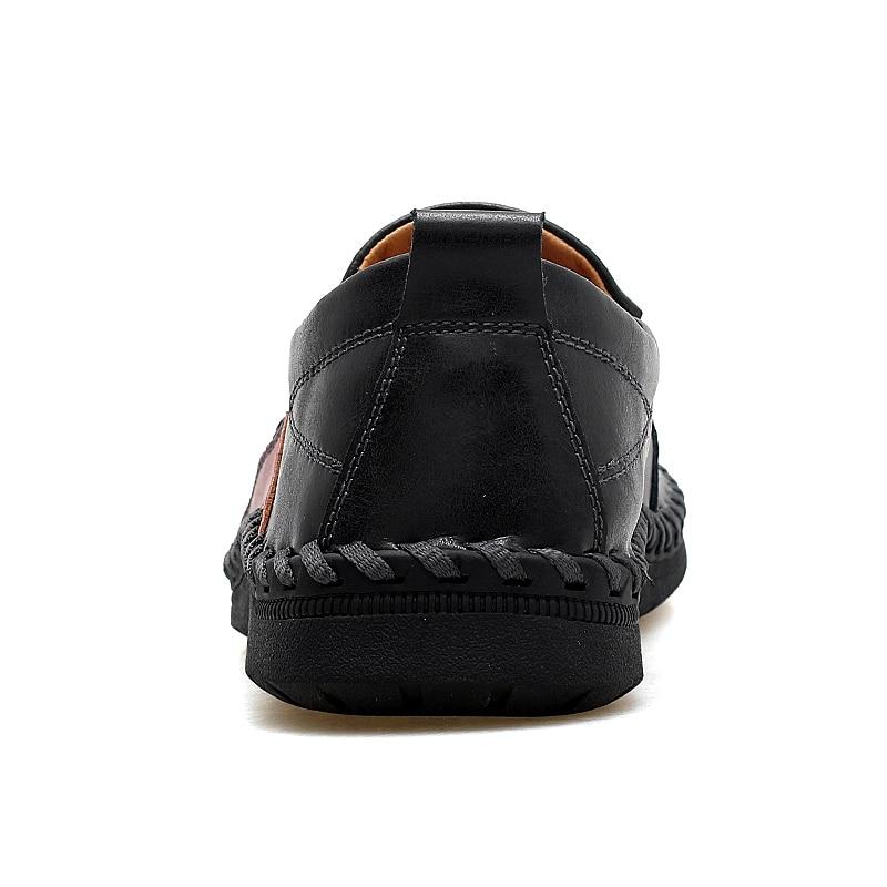 Marca Preto Sapatos Mocassins Homens Condução Casual marrom Size Vestido Dos Trabalho Luxo Genuíno Calçados Sneakers Macio vermelho Plus Couro Preguiçosos De Masculino Formal 47 v1rFwqxv