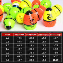Fishing Float 2pcs Sea Float Ocean Rock Fishing Float Buoy Kit Set Support Glow Luminous Stick Inserted Tackle Accessories