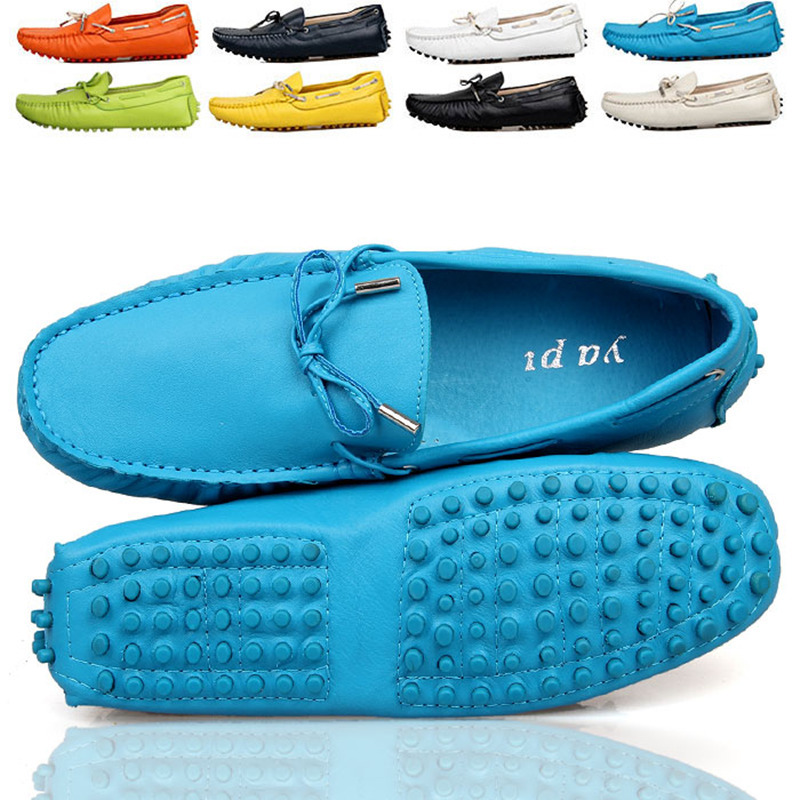 Eu 38 - 44 Fashion Fashion Fashion Genuine Cozy Pelle Tie Casual Slip-On Loafers Car Shoes Pen 6a4c5a