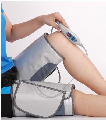 HANRIVER electric slimming leg belt heating sauna wraps anti cellulite fat burning slimmer