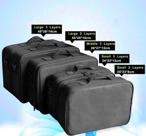 Image 5 - High Quality Make Up Bag Professional Makeup Case Makeup Organizer Bolso Mujer Cosmetic Case Large Capacity Storage Bag