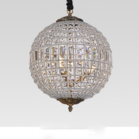 Vintage Lustres Led Crystal Chandelier Indoor Lighting For Living Room Bedroom Chandelers Deco Salon Lamp Nordic Light Fixtures