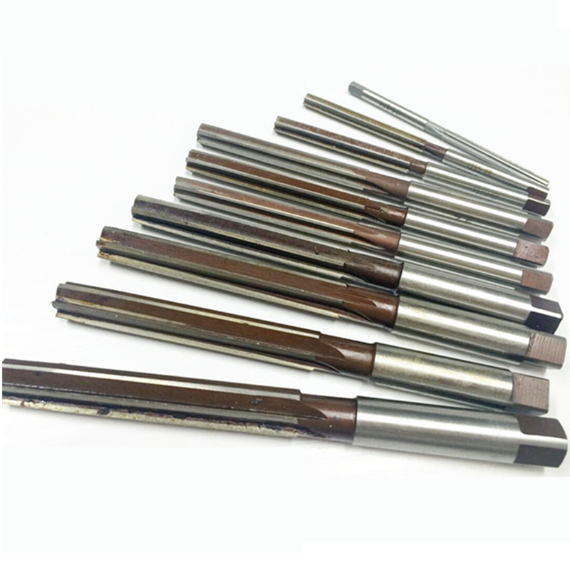 10 Pcs Hand Reamer 3/4/5/6/7/8/9/10/11/12mm Precision H8 9SiCr Straight- shank Manual-purpose Tools esprit esprit esco 90788 a
