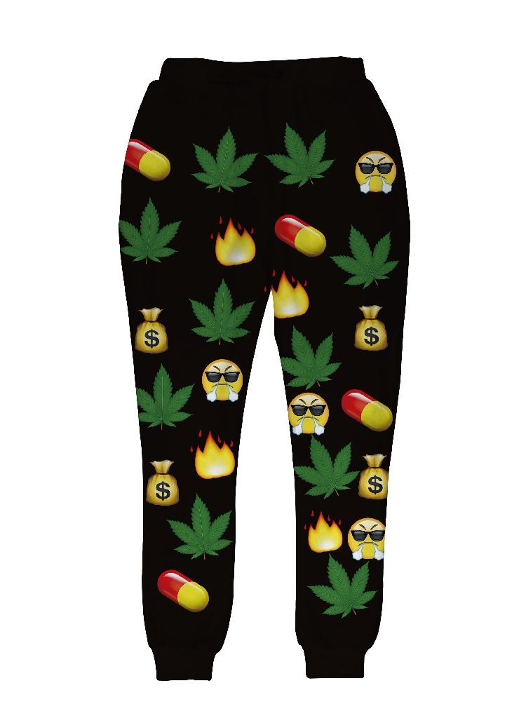 Autumn New Design Jogger Pants Kawaii Whatsapp Emoji Printed Joggers Classic Graphic Mens/Women Casual Trousers Sweatpants