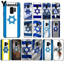 Yinuoda israel flag Country banners Israeli silicone soft Phone Case For Samsung Galaxy s9 s8 plus note9 s7 note5 funda(China)