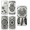 Floral Paisley Flower Mandala Case Cover For Samsung Galaxy s3 s4 s5 s6 s7 edge S4/S5 mini A3 A5 J3 J5 Retro Mobile Phone Case