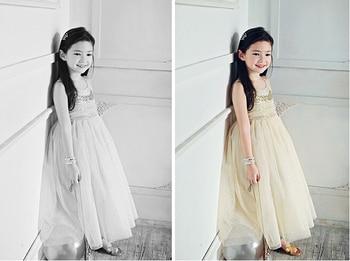 New Cute Girls Sequins Tutu Dress Princess Summer Sleeveless Dresses Clothes