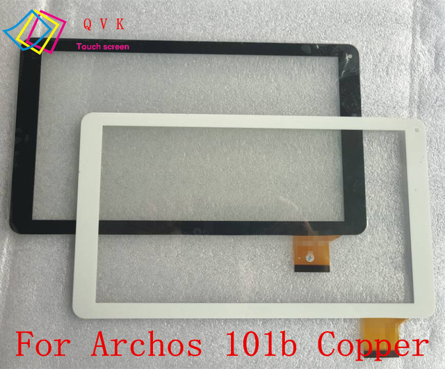 Black white 10.1 Inch for Archos 101b Copper tablet pc touch screen panel Digitizer Glass sensor replacement original new touch screen 10 1 archos 101b xs2 tablet touch panel digitizer glass sensor replacement free ship