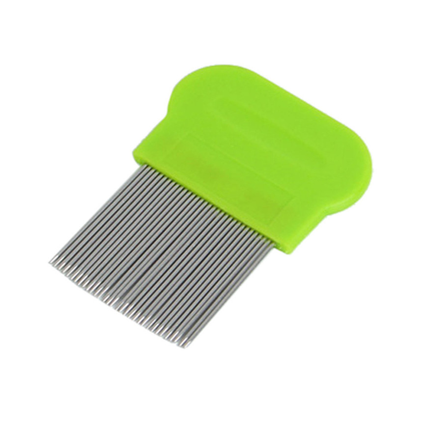 2017 Comb Brushes Hair Lice Terminator Fine Egg Dust Nit Free Removal Stainless Steel Random Color