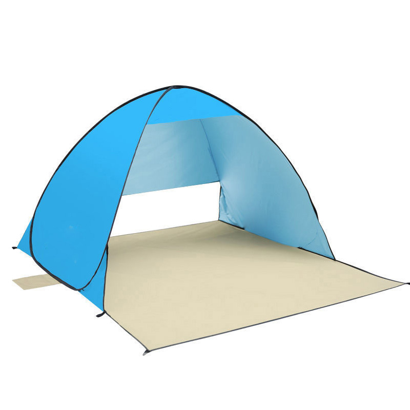 Multi-function Outdoor Camping Tent Ultralight Anti-uv Sunscreen Beach Tent Automatic Opening Waterproof Fishing Tents lc099 outdoor beach tents shelters shade uv protection ultralight tent for fishing picnic park