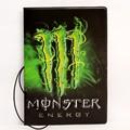 Monster  New boys like cool cartoon passport holders,  travel passport cover, pvc leather 3D energy Design