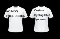 Factory Direct Different Quality Custom Sublimation Sportswear Running Cycling T Shirt Quick Dry Breathable No MOQ