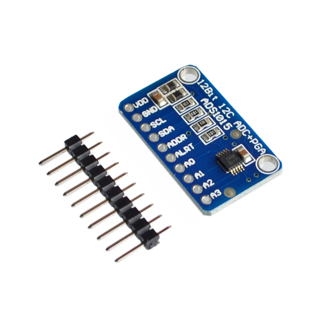 ADS1015 ADC ultra-compact 12-precision ADC module development board