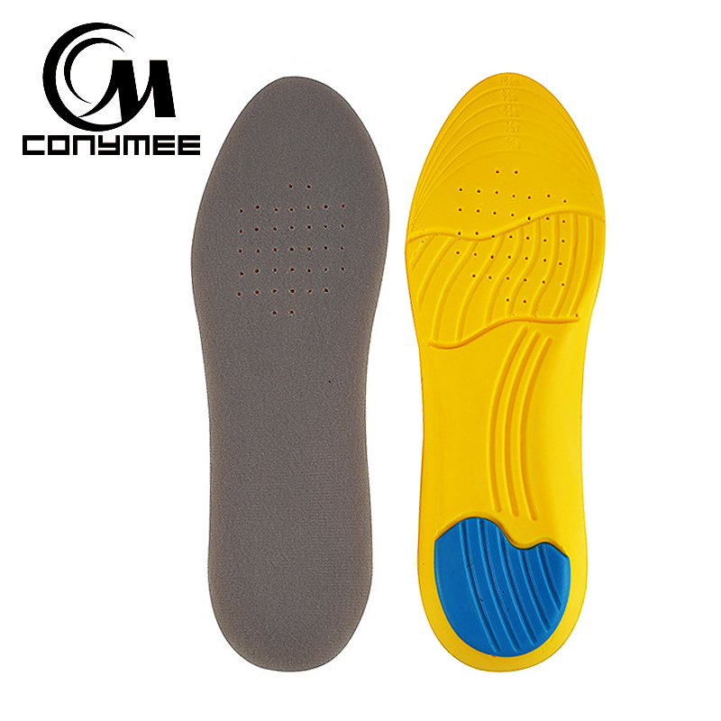 CONYMEE Memory Foam Insoles High Arch Support Orthopedic Insole Inserts Men Women Shock Absorption Sneakers Pads Foot Care Pad