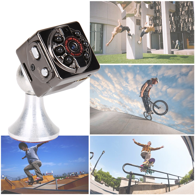SQ9 HD 1080P Mini Sport DV Camera 1080P Full HD Car DVR Dash Cam Camcorder 32GB Sd Card