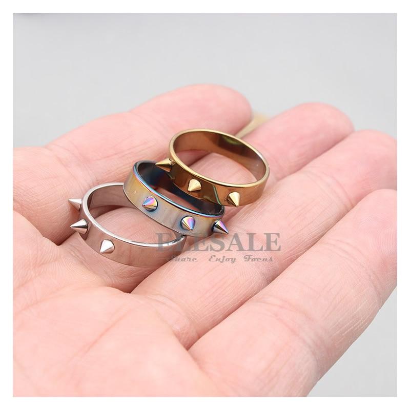New Tactical Self-Defense Ring Men/Women Portable Self-Defense Weapons Outdoor Survival Emergency Glass Breaker Punk Rings