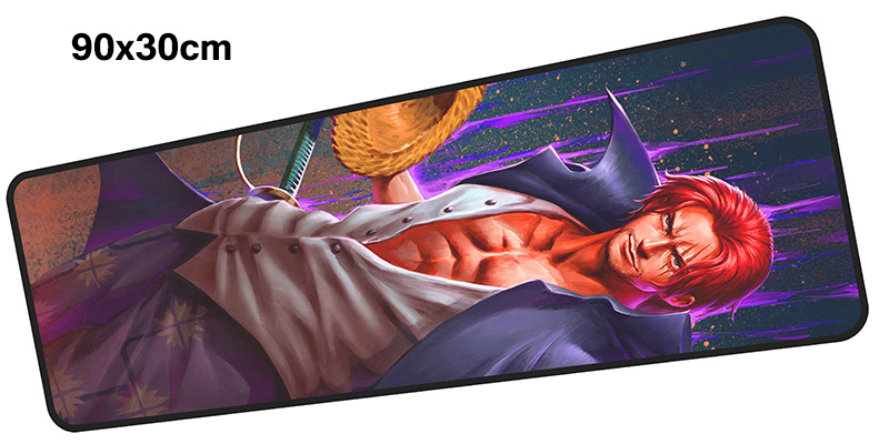One Piece mousepad gamer 900x300X3MM gaming mouse pad large Colourful notebook pc accessories laptop padmouse ergonomic mat