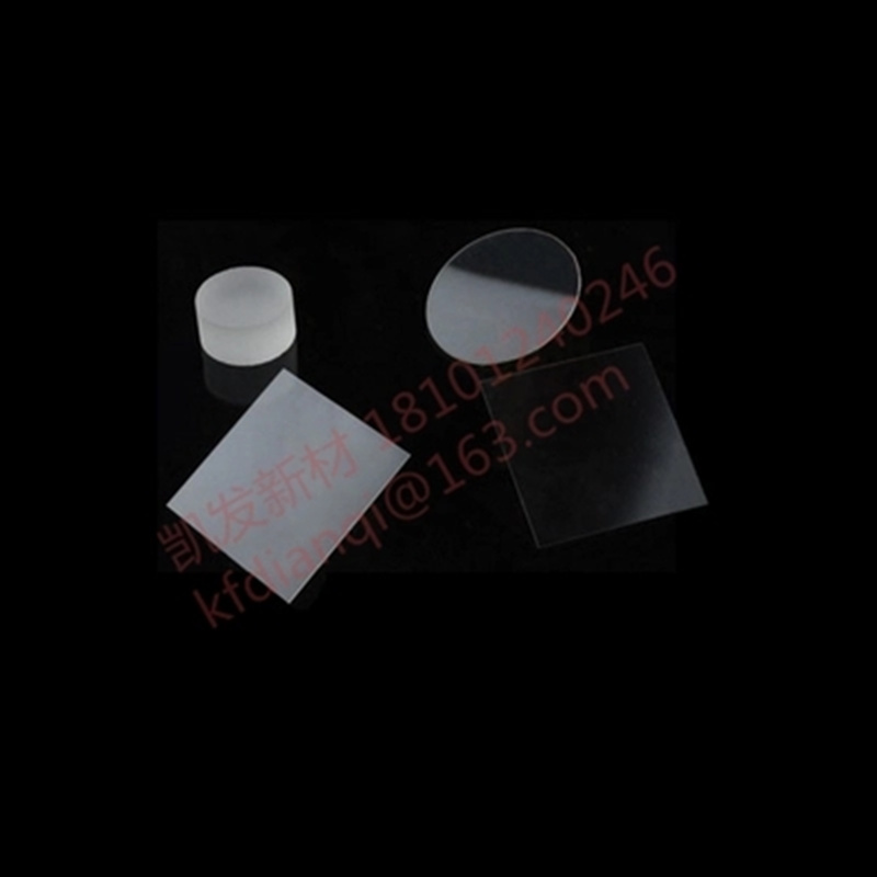 Sapphire Square-Al2O3 Single crystal substrate-D25.4*1.0mm-glasfolie-Epitaxial coating-double polishing