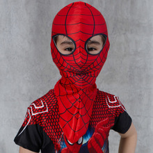 New Halloween Cartoon  Full Head Maskss for Kids Fashion Cool Spider-Man Child Masks Wholesale