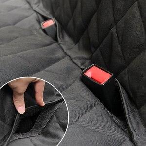 Image 3 - Housse de siège de voiture pour chien 600D