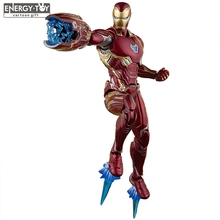 Movie Avengers Infinity War Ironman Mark50 Iron Man Mk50 PVC action figure doll model toy