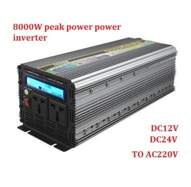 цена на off grid 4000W 8000w peak power modified sine wave power Inverter DC24V to AC230V converter