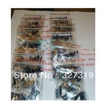 120 шт 12 значение алюминиевый электролитический конденсатор