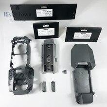Оригинальная Фирменная Новинка Верхняя Нижняя средняя рамка оболочка с винтами средняя оболочка Крышка для DJI Mavic Pro Drone запасные части