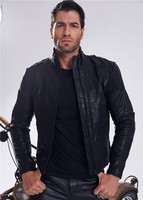UGLYBROS Genuine Leather Jacket Motorcycle Locomotive Protective Jacket Men's self cultivation Size S 3XL