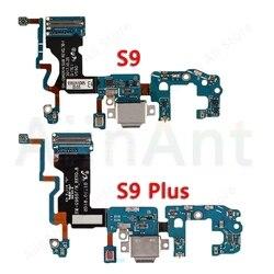 Untuk Samsung Galaxy S9 Plus G965F G965N G965U S9 G960F G960U G960N Asli USB Pengisian Port Charger Dock Konektor Flex kabel