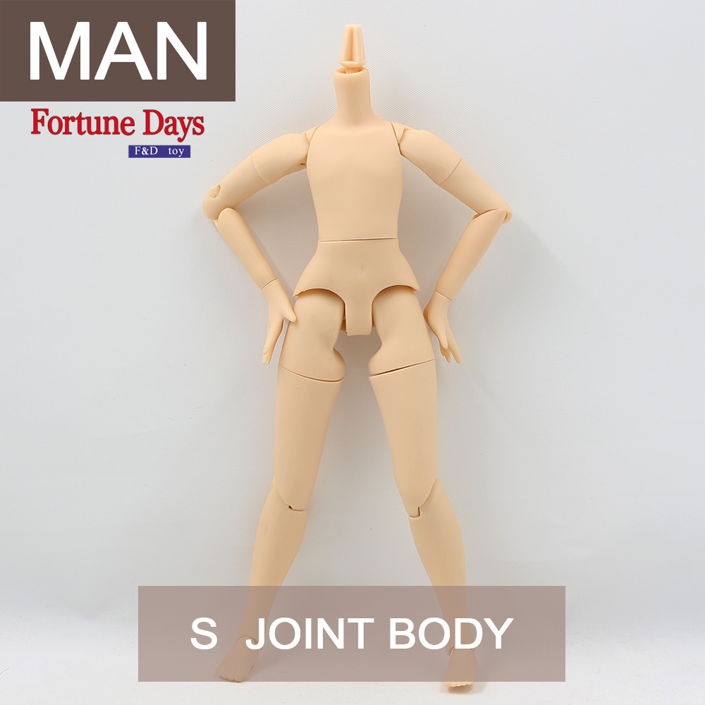 Azone S Fortune Day body 21cm height For  my doll male body with the special hand gesture  ballet dress little creative factory