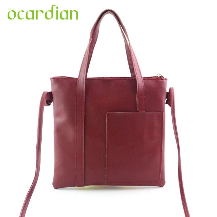Ocardian Bolsas Hot Women Fashion Handbag Shoulder Bag Large Tote Ladies Purse 2017 17Mar06 Dropshipping