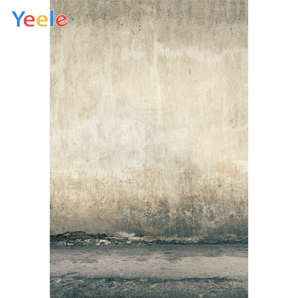 Yeele Grunge Solid Wall Self Portrait Baby Show Kid Photography Backgrounds Personalized Photographic Backdrops For Photo Studio-in Background from Consumer Electronics