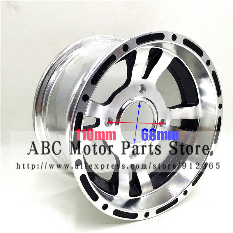 ATV 10inch Front Wheel Aluminum Alloy Rims 10
