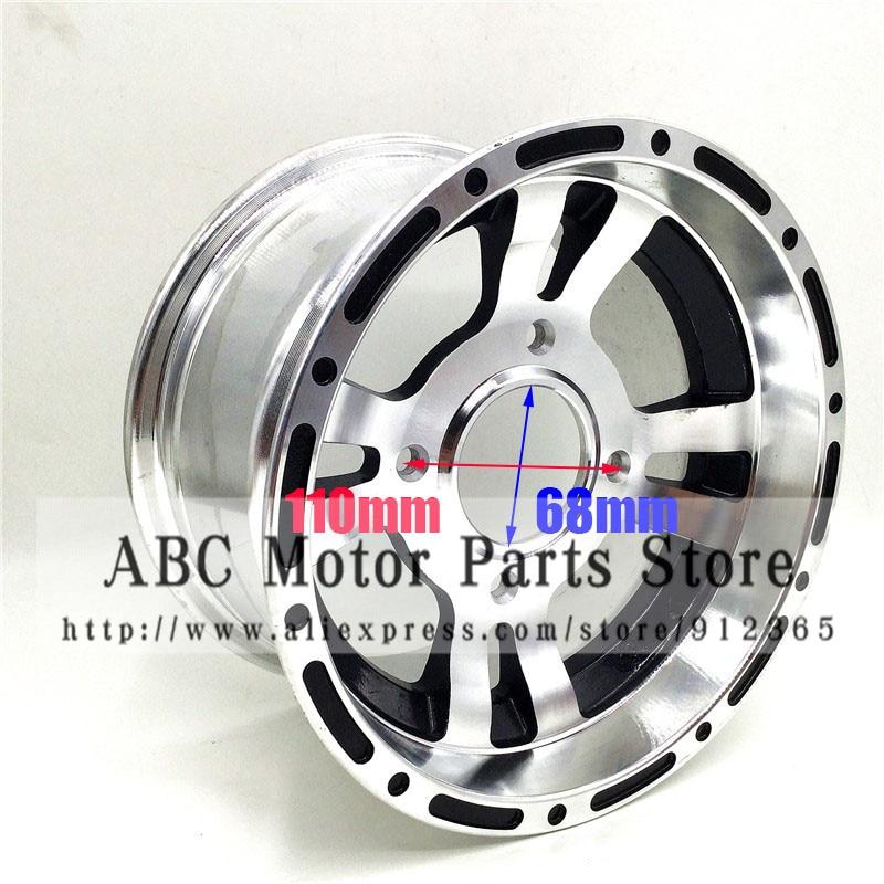 ATV 10inch Front Wheel Aluminum Alloy Rims 10x 5.5 Quad Chinese Off-Road 4 wheel Motorcycle Motocross mxfans 4 pcs aluminum alloy wheel felloe rc 1 10 on road rimmer black wheel rims