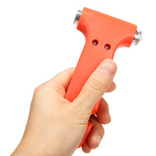 Mayitr 2 in 1 Mini Multifunction Emergency Safety Hammer Car Window Glass Breaker Seat Belt Cutter Auto Escape Tools