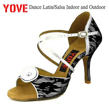 ab02da59 Zapatos de baile estilo YOVE w1610-33 Bachata/Salsa de interior y exterior  para