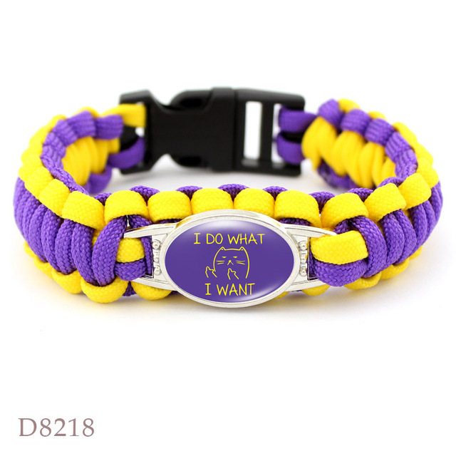 Dog mom paracord bracelets 4