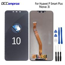 цены на Original For Huawei P Smart Plus LCD Display Touch Screen Digitizer Phone Parts For Nova 3i INE-LX1 INE-L21 Screen LCD Display  в интернет-магазинах